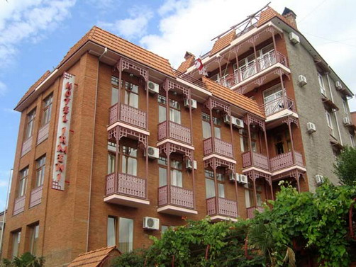 14.The Tbilisi houses with balconies