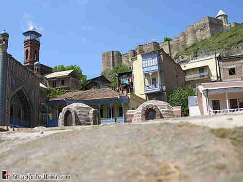 51.Old area of the Tbilisi