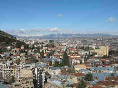 54.Panorama of the Tbilisi area