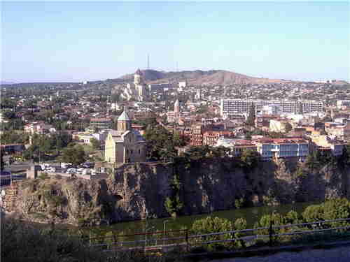 59.Panorama of the Tbilisi area