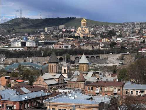 1.Panorama of the Tbilisi area