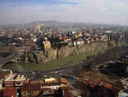 3.Panorama of the Tbilisi area