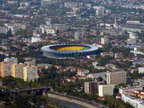 8.The central stadium of Tbilisi